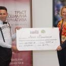 """Победителят Ангел Валентинов от Монтана, който спечели първа награда от 7000 лв. в класацията на Фондация """"Тръст за социална алтернатива"""" на първия клас в програмата """"Бизнес алтернативи"""